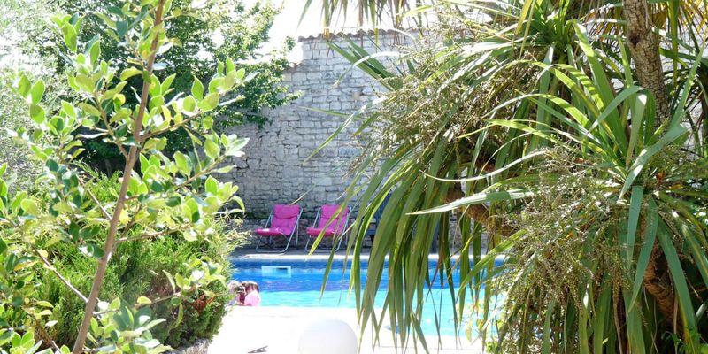 Appartement île de Ré avec jardin